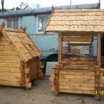 Козырные колодезные домики