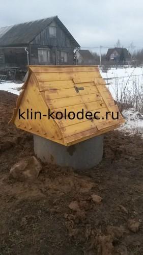типовой колодезный домик